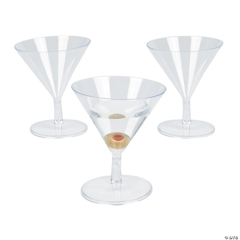 Mini Martini Appetizer Glasses