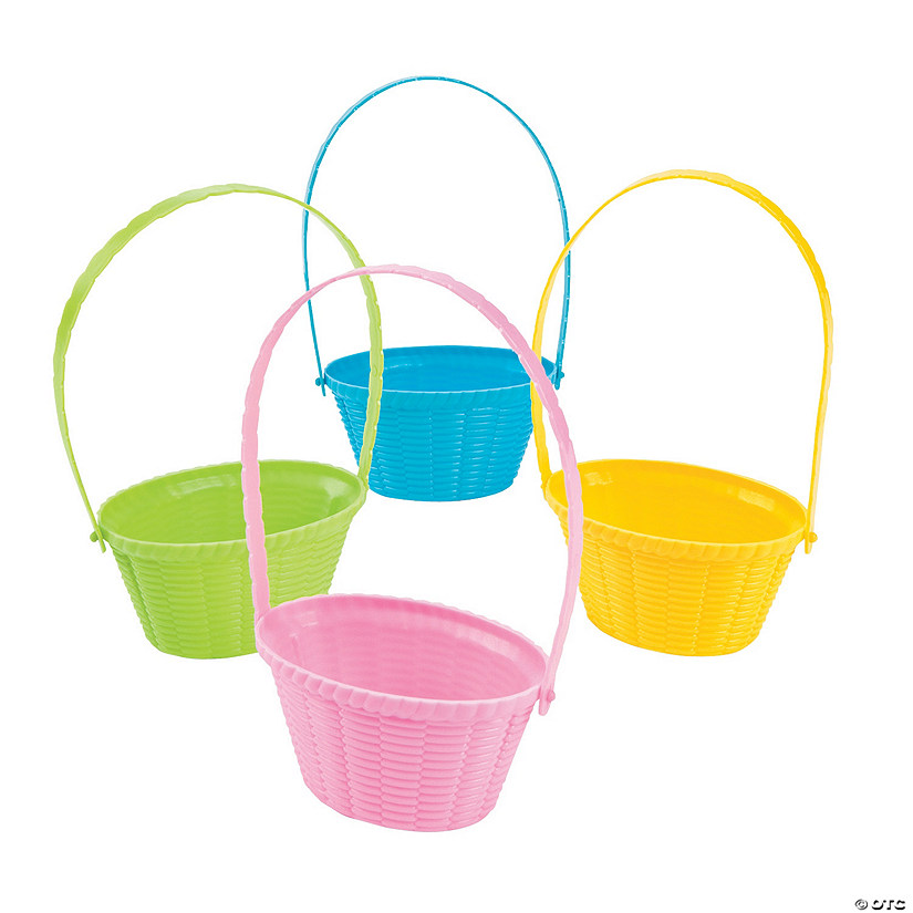 Mini Pastel Easter Baskets