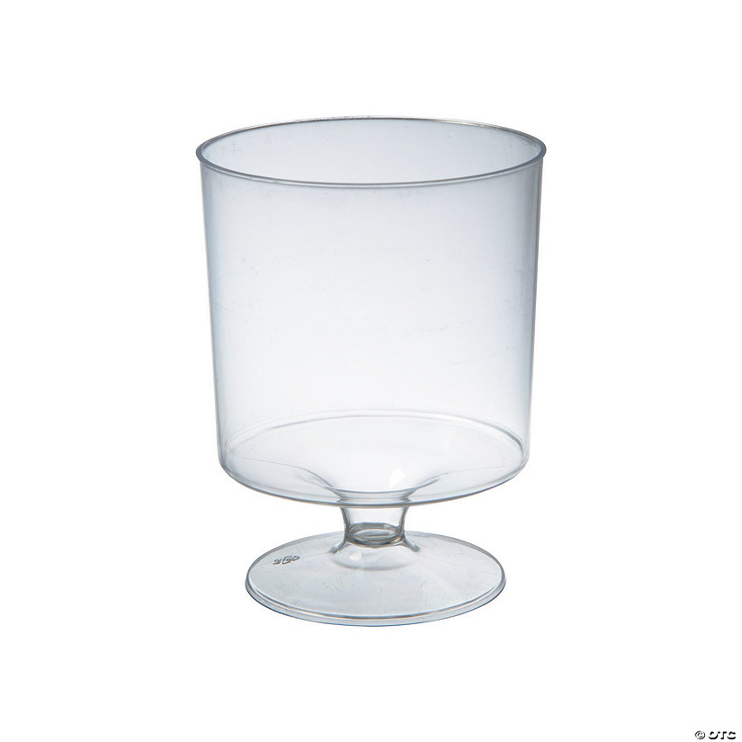 Mini Pedestal Clear Cups