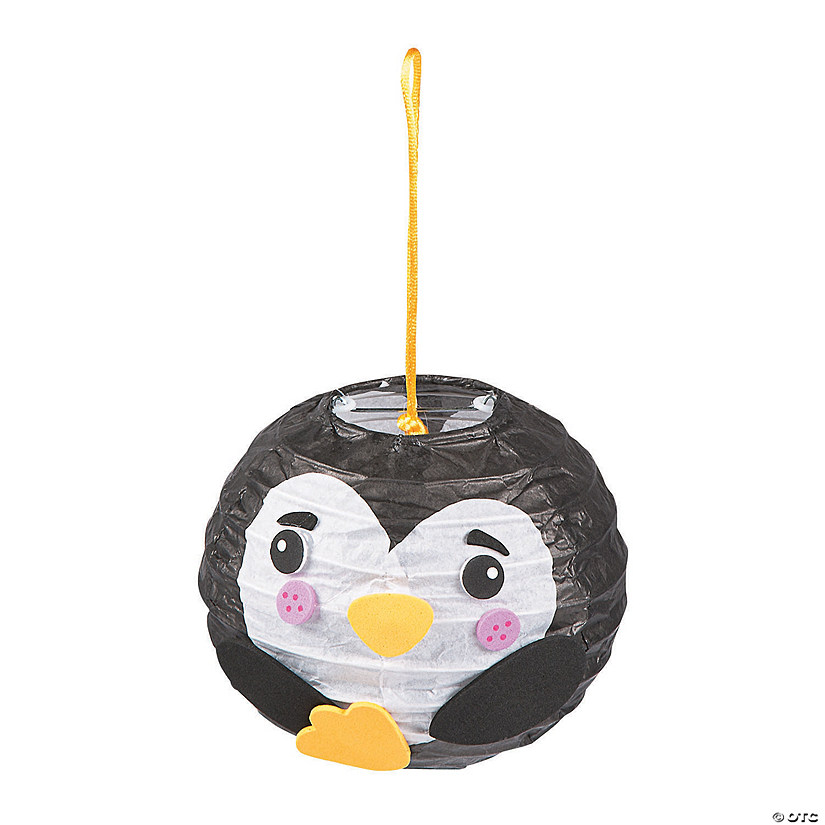 Mini Penguin Paper Lantern Craft Kit