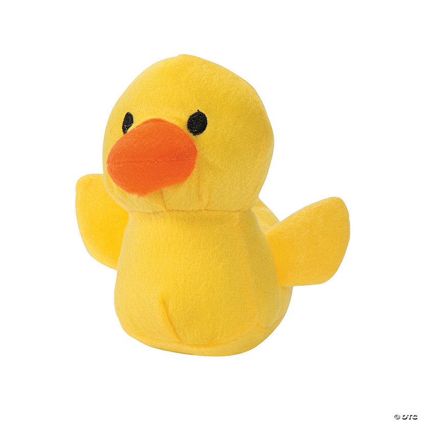 Mini Stuffed Rubber Ducky