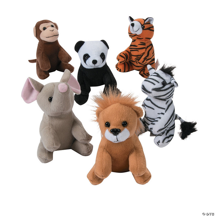 Mini Zoo Stuffed Animals