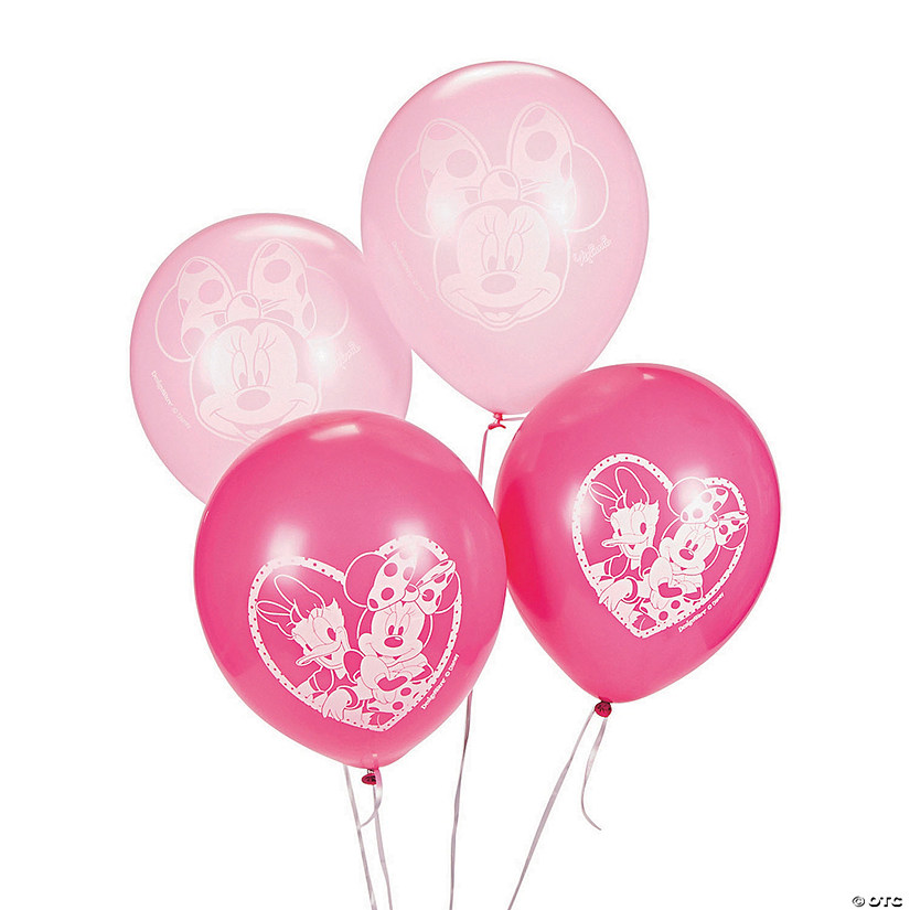 "Minnie Bowtique 12"" Latex Balloons"