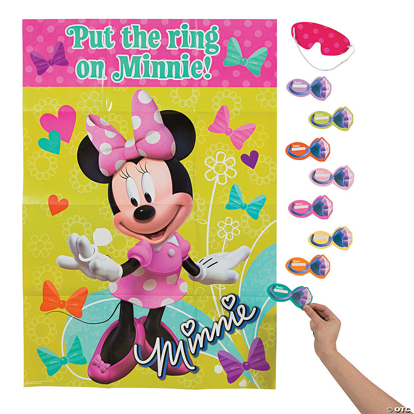 Minnie Bowtique Party Game