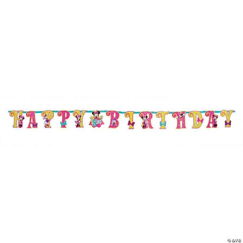Minnie Mouse Add-an-Age Paper Banner
