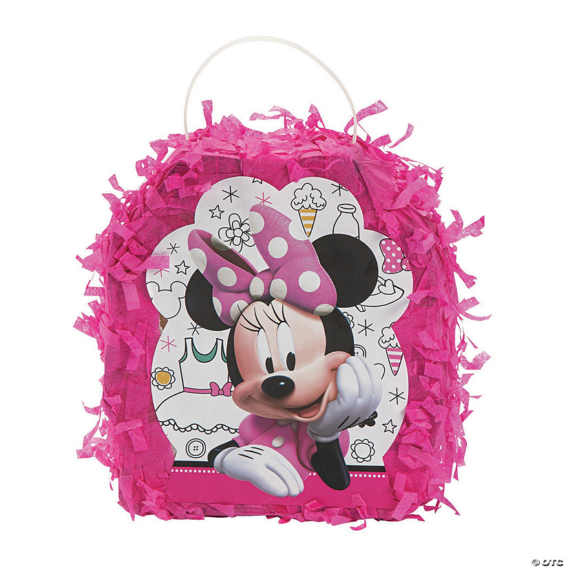 Minnie's Happy Helpers Piñata Favor Container