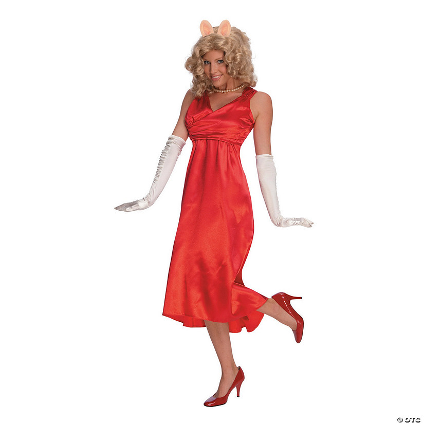 Miss Piggy Halloween Costume for Women