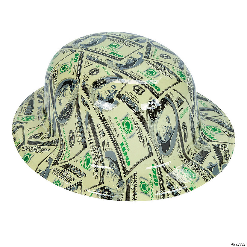 Money Print Derby Hats