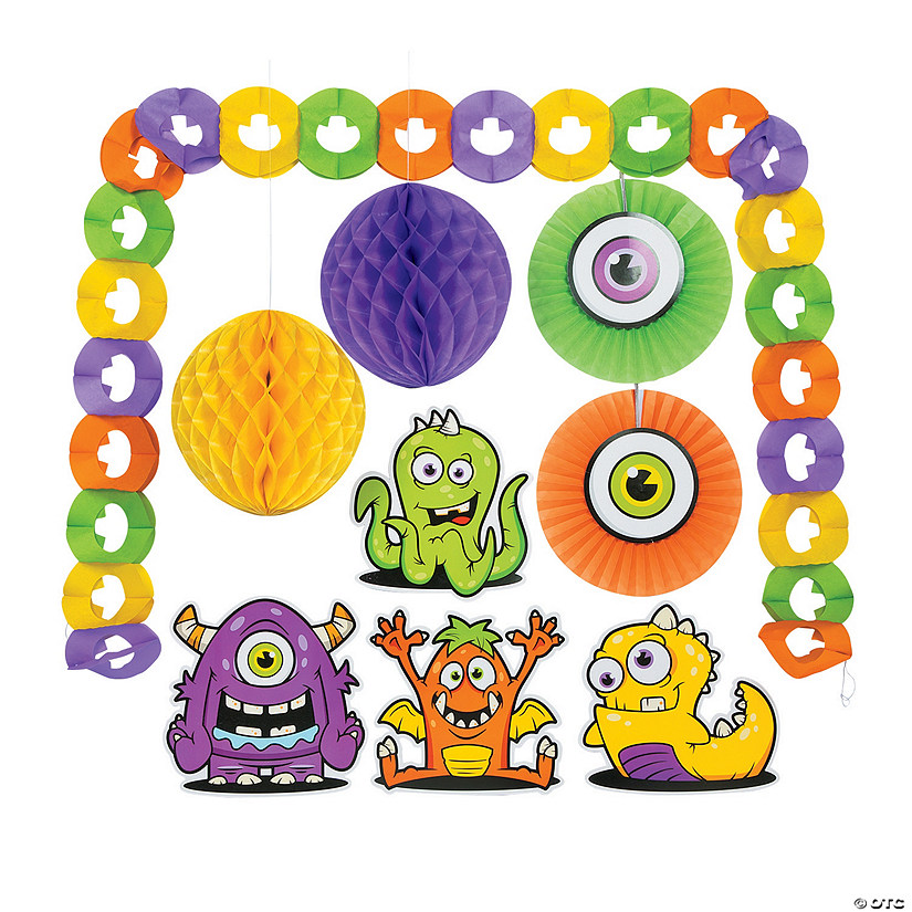 Monster Decorating Kit