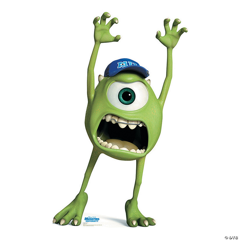 Monsters University Mike Wazowski Cardboard Stand-Up