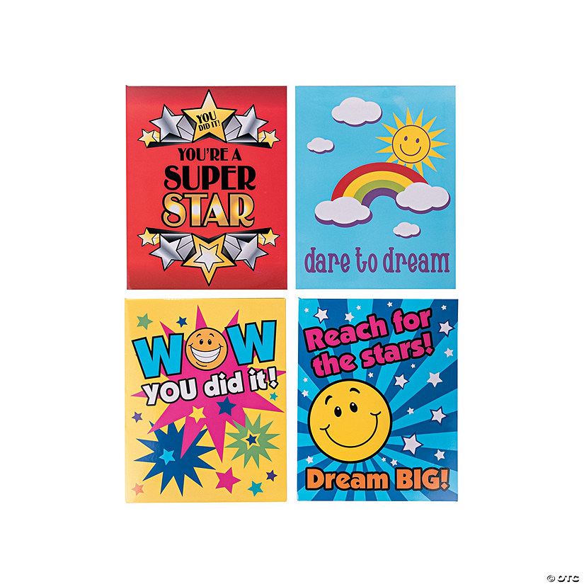 Motivational Award Pocket Folders