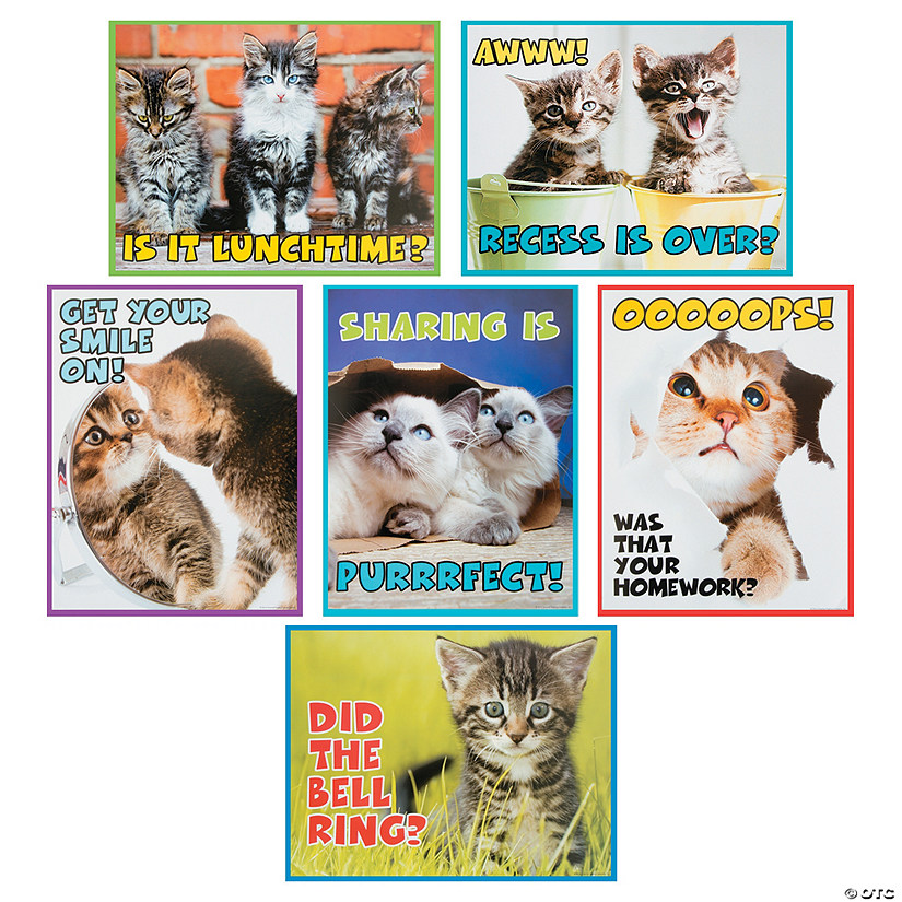 Motivational Kitten Posters