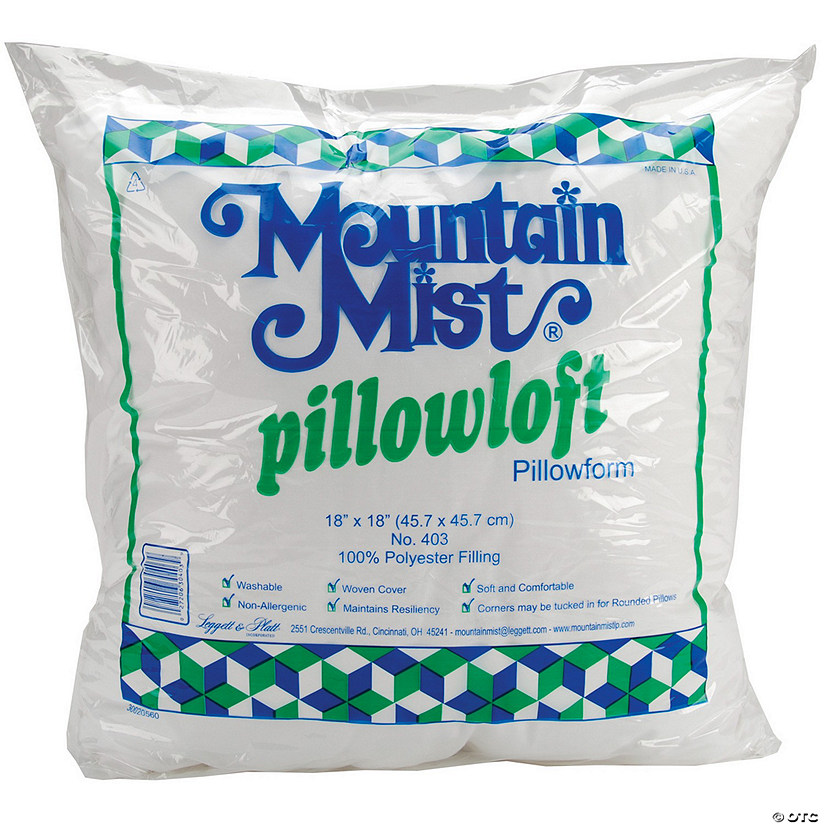 "Mountain Mist Pillowloft Pillowform-18""x18"""