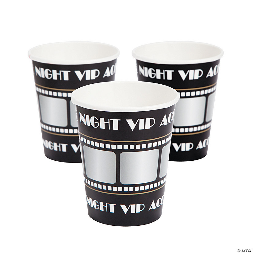 Movie Night Paper Cups