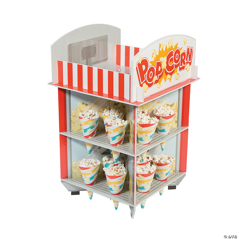 Movie Party Treat Stand with Cones