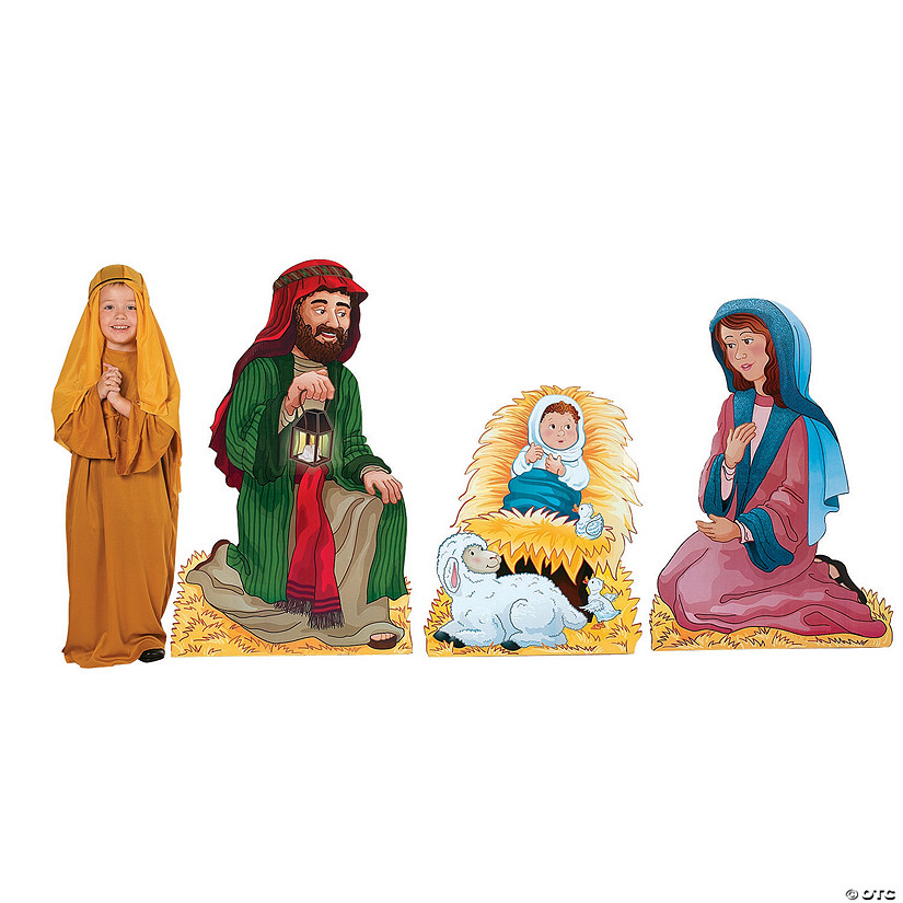 Nativity Family Cardboard Stand-Ups