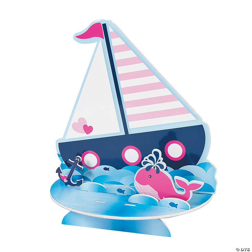 Nautical Girl Centerpiece