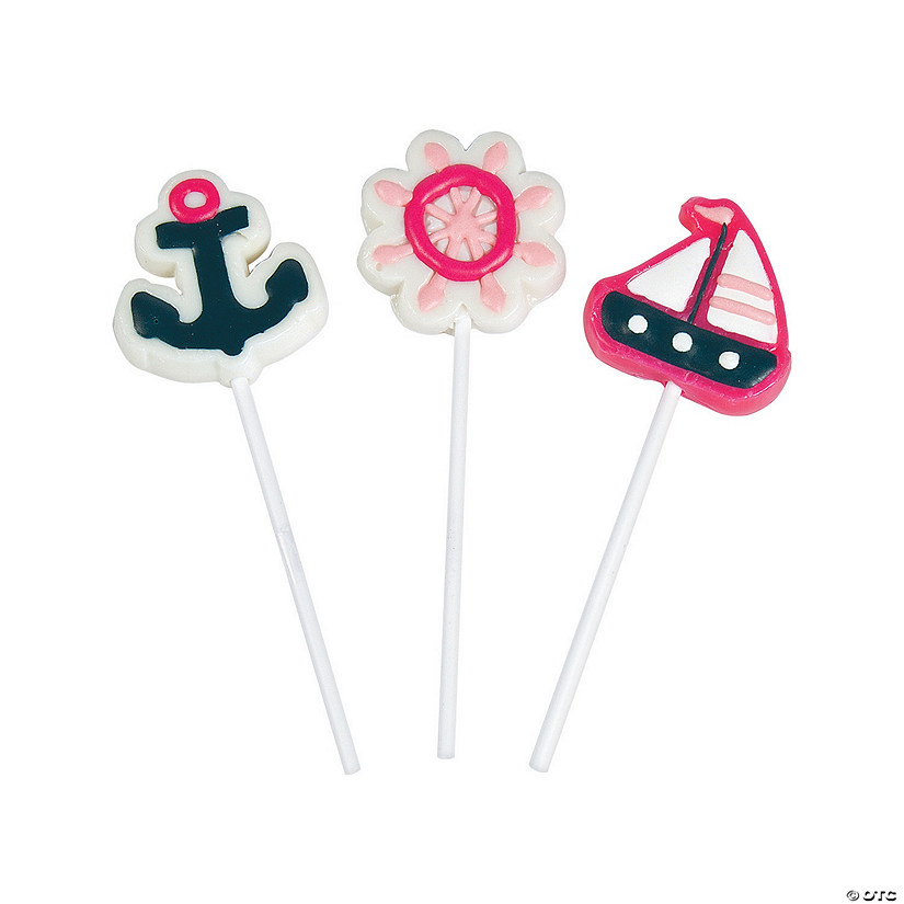 Nautical Girl Character Lollipops