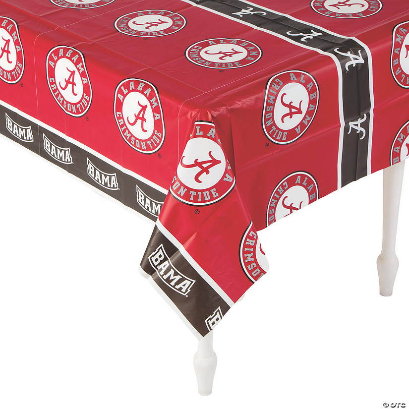 NCAA™ Alabama Crimson Tide Plastic Tablecloth