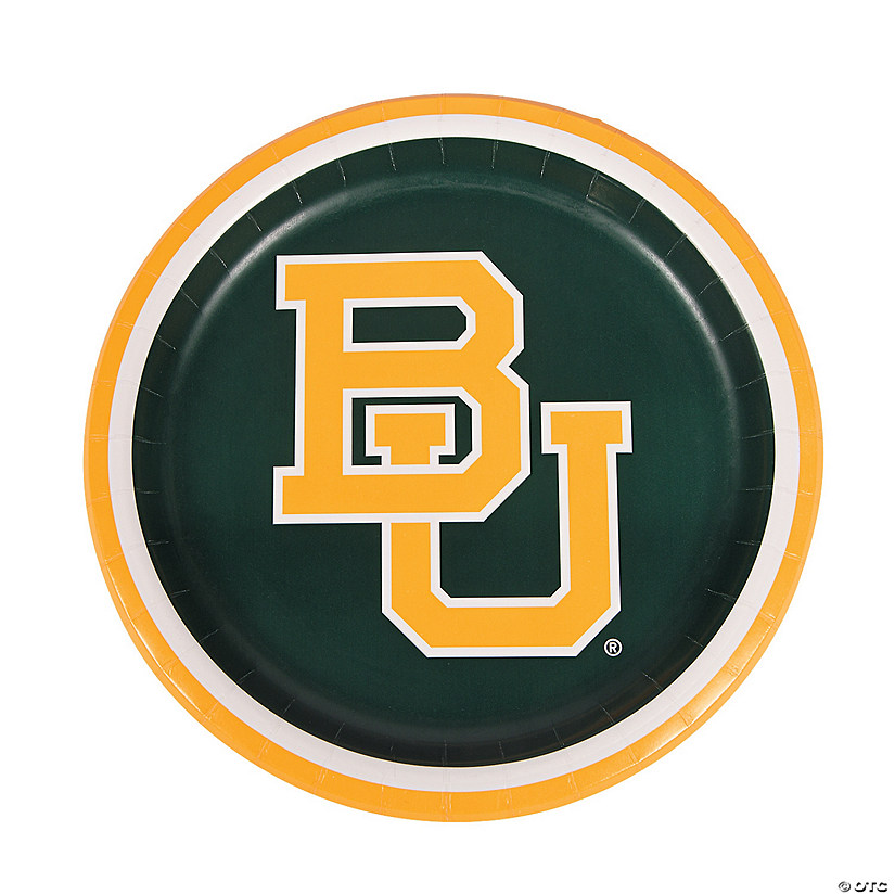 NCAA™ Baylor University® Paper Dinner Plates