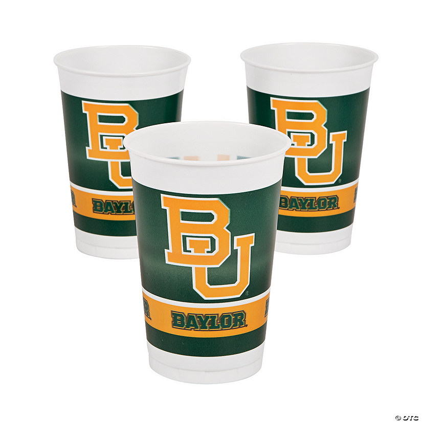 NCAA™ Baylor University® Plastic Cups