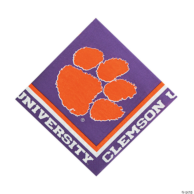 NCAA™ Clemson Luncheon Napkins