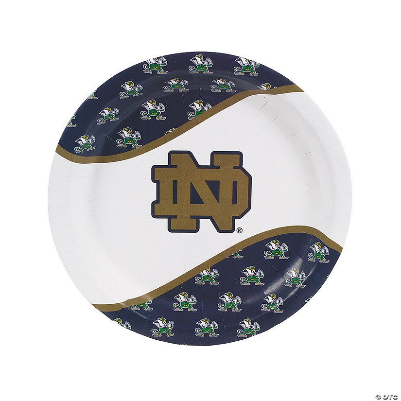 NCAA™ Notre Dame Paper Dinner Plates