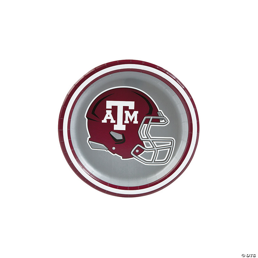 NCAA™ Texas A&M Paper Dessert Plates