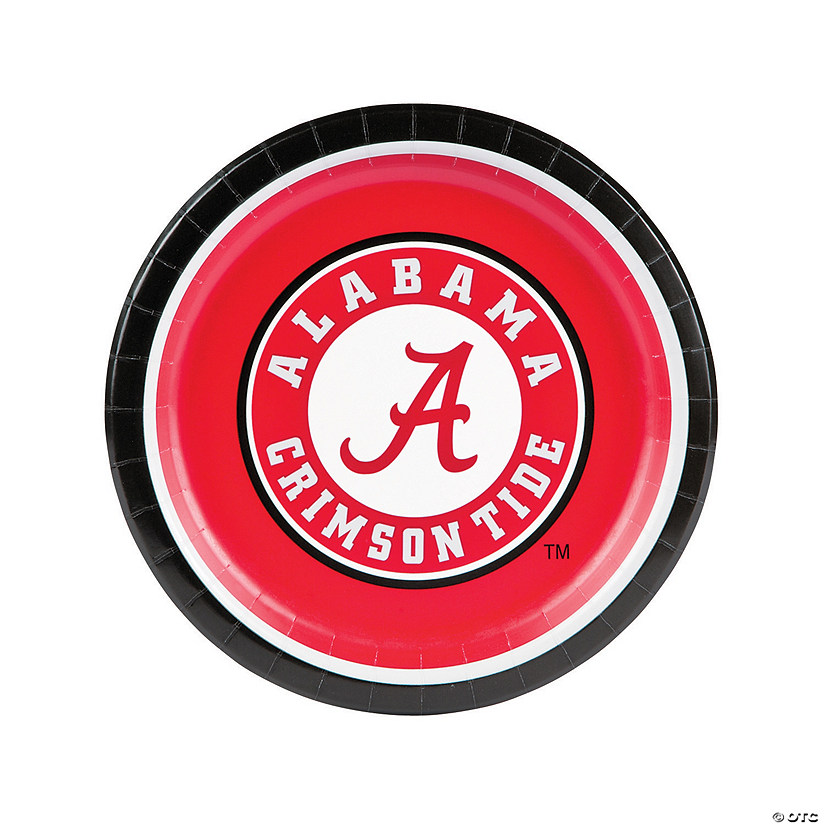 NCAA™ University of Alabama Crimson Tide Paper Dinner Plates