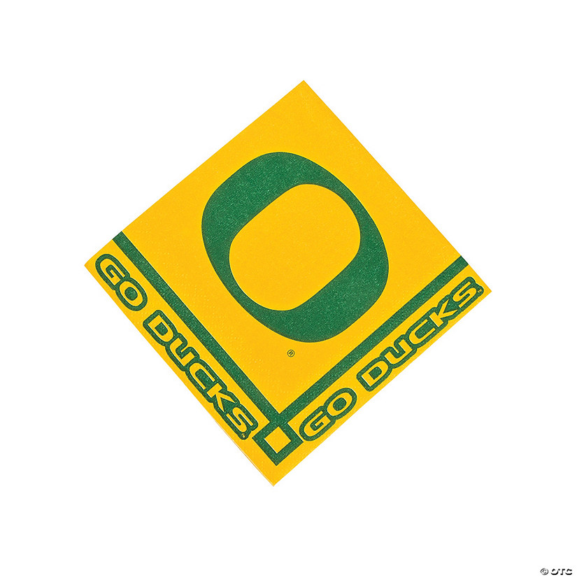 NCAA™ University Of Oregon Ducks Beverage Napkins