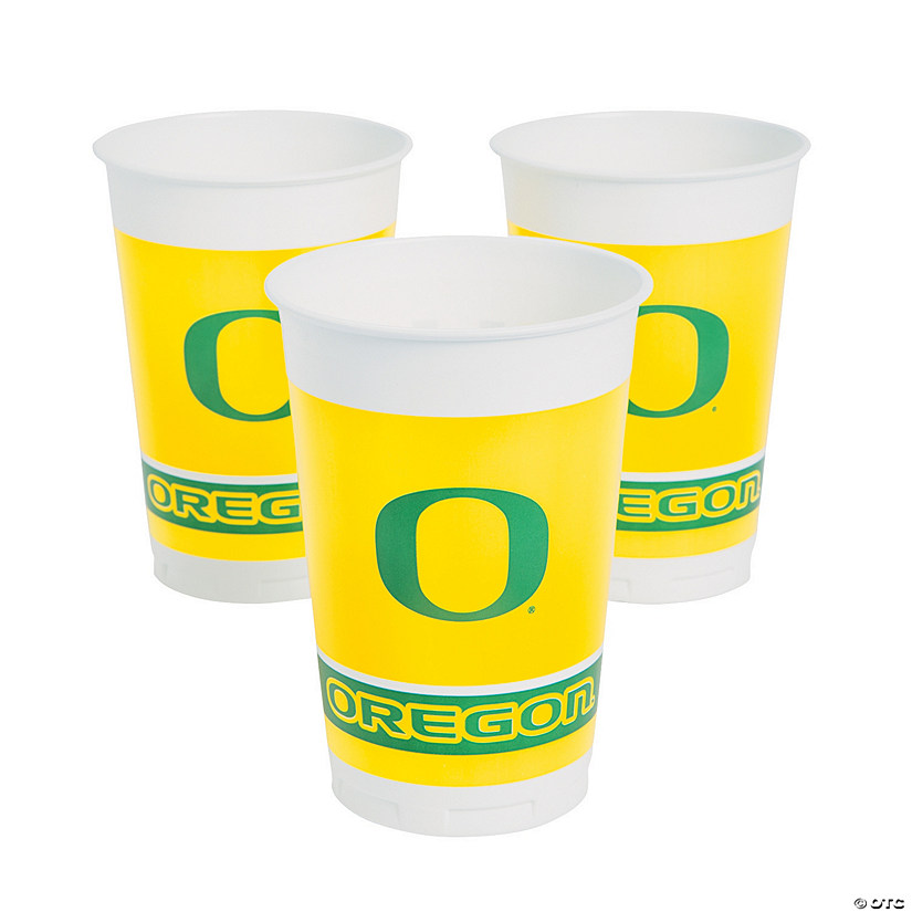 NCAA™ University Of Oregon Ducks Plastic Cups