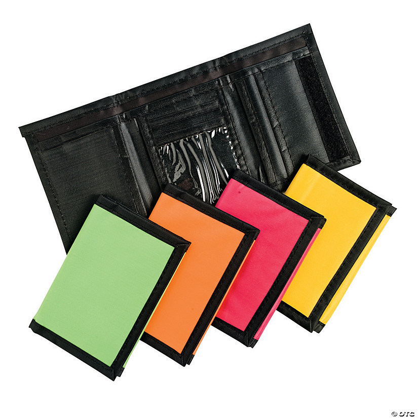 Neon-Colored Wallets