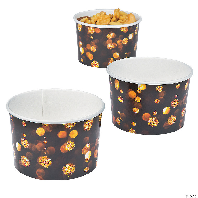 New Year's Snack Cups
