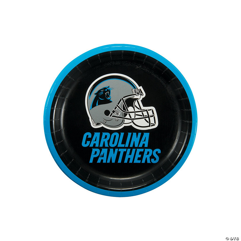 NFL® Carolina Panthers™ Paper Dessert Plates