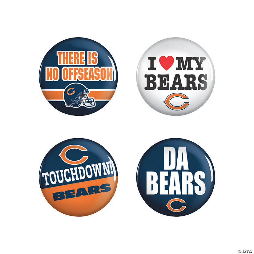 NFL® Chicago Bears™ Buttons