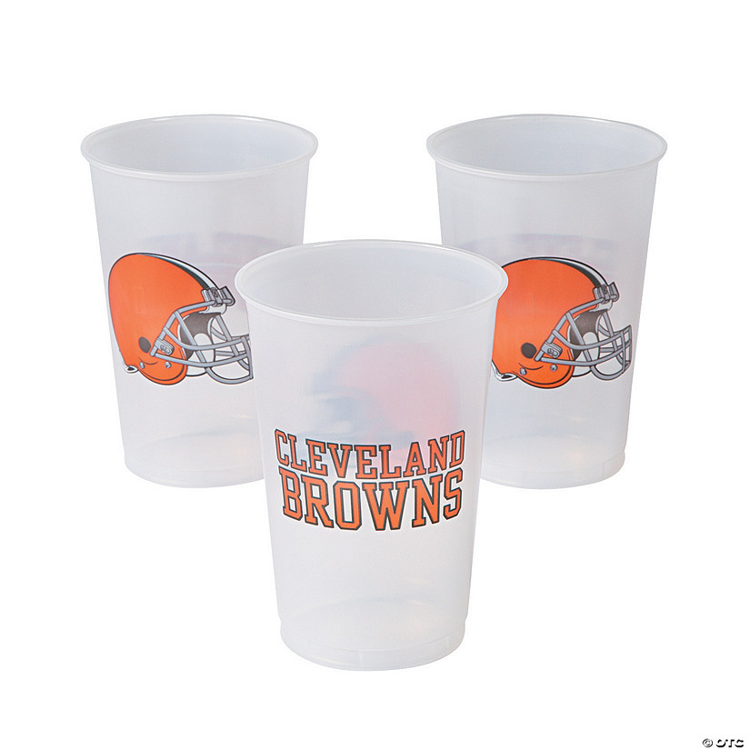 NFL® Cleveland Browns Plastic Cups