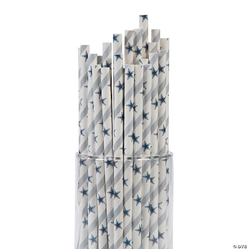 NFL® Dallas Cowboys Paper Straws