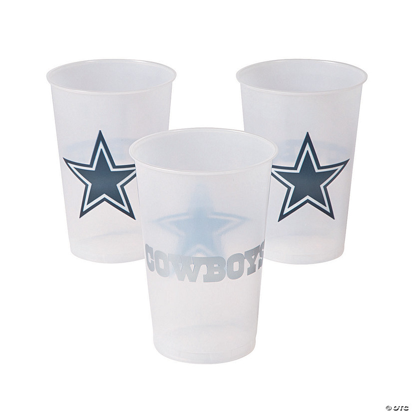 NFL® Dallas Cowboys Plastic Cups
