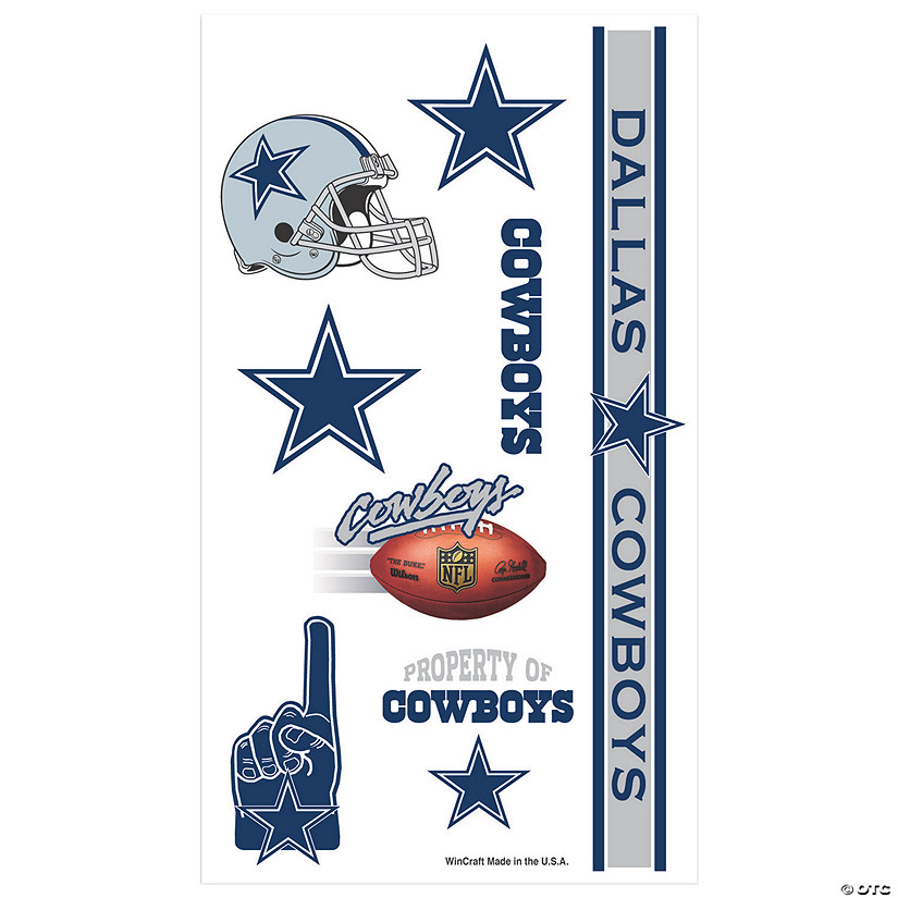 NFL® Dallas Cowboys™ Tattoos