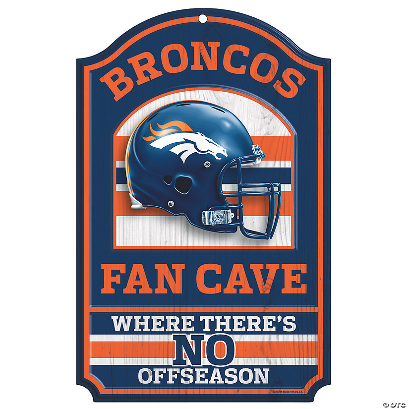 NFL® Denver Broncos™ Fan Cave Sign