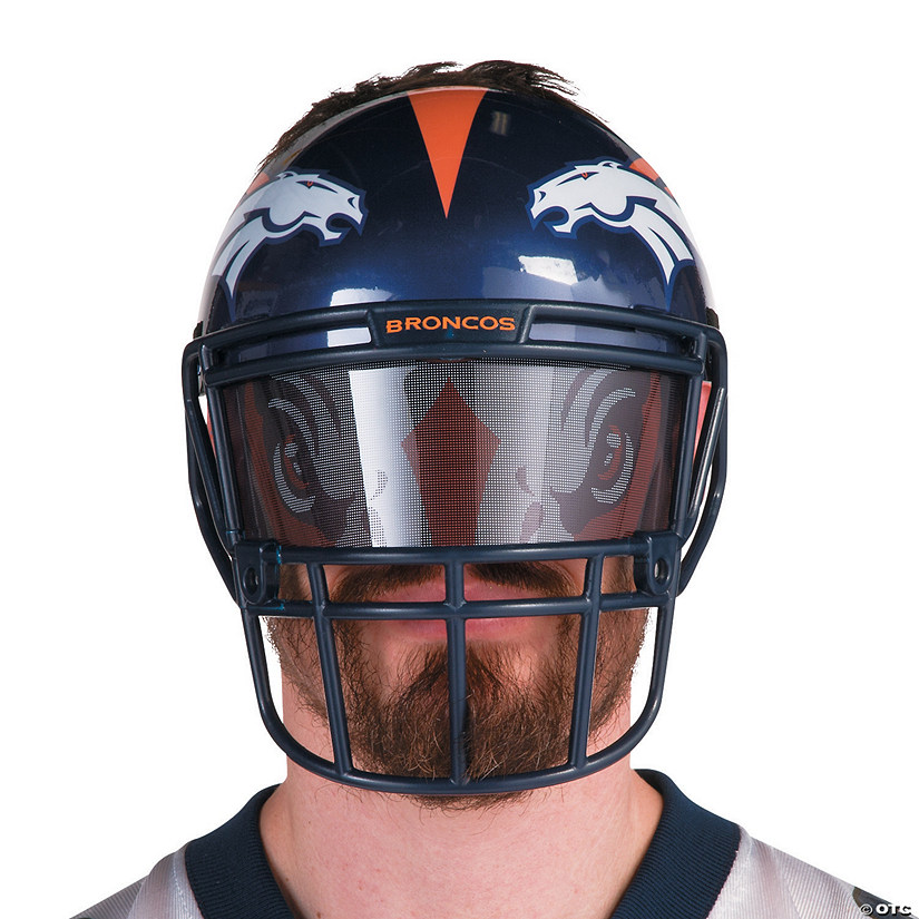 NFL® Denver Broncos™ Helmet-Style Fan Mask