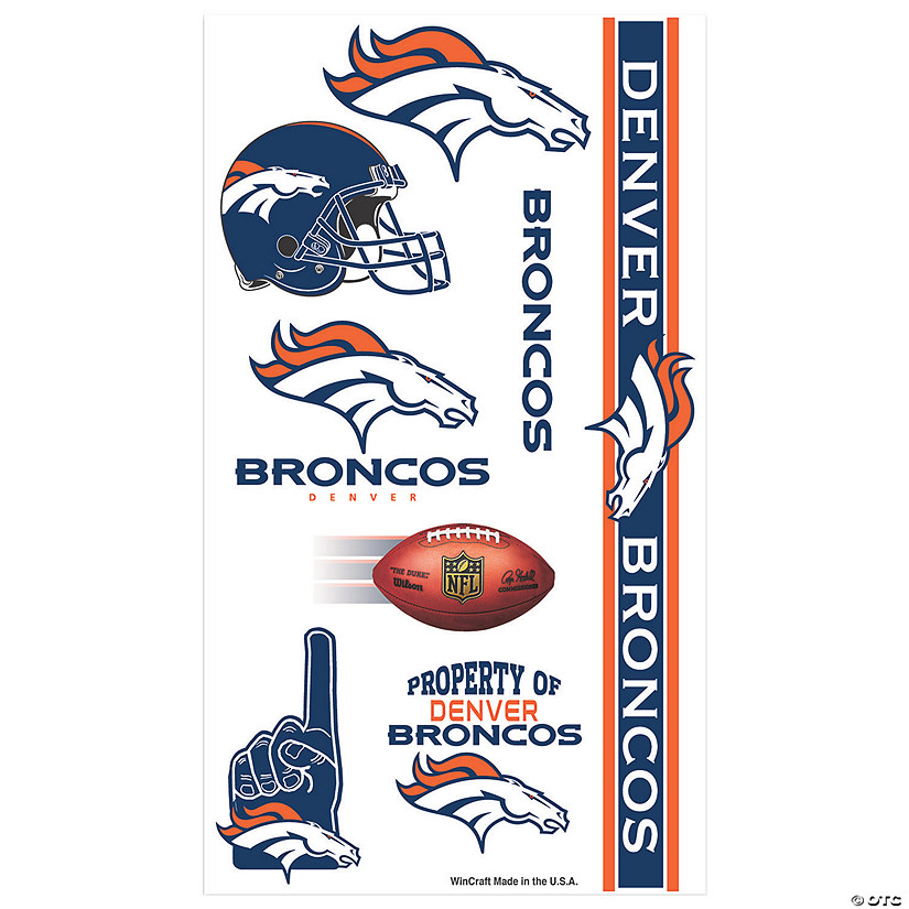 NFL® Denver Broncos™ Tattoos