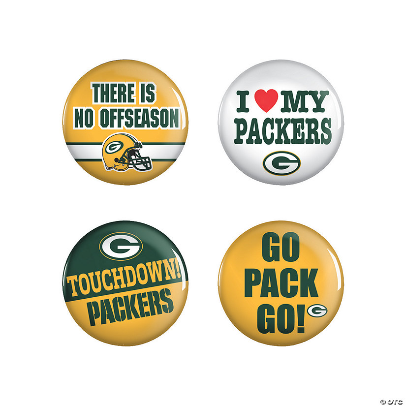 NFL® Green Bay Packers™ Buttons