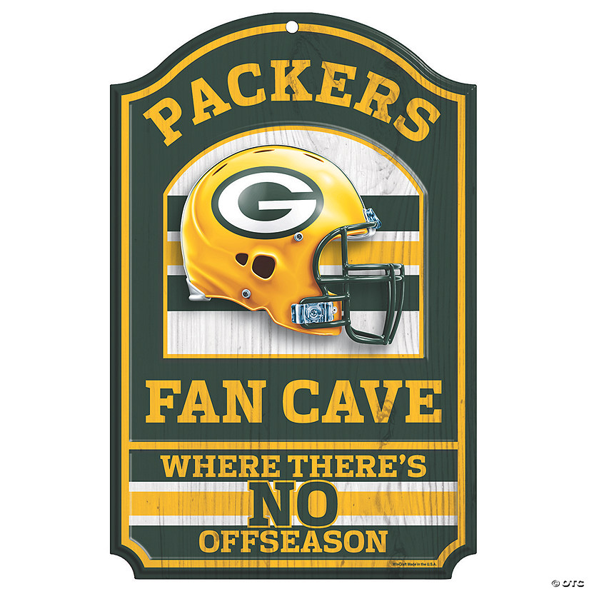 NFL® Green Bay Packers™ Fan Cave Sign