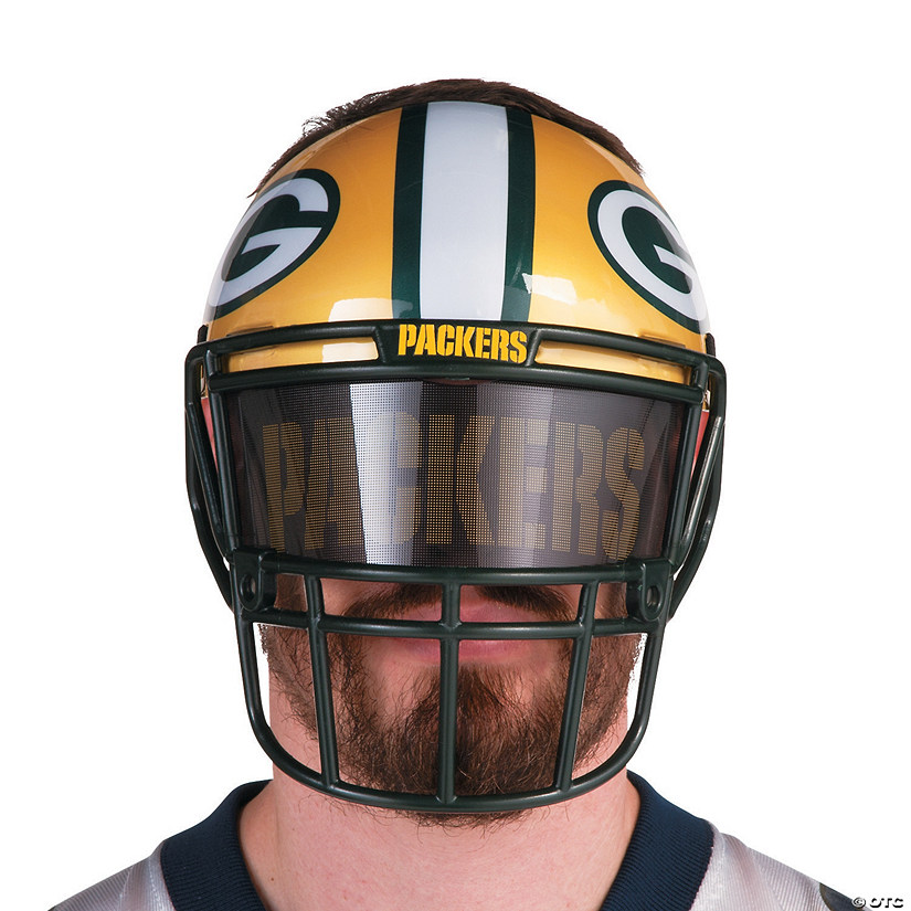NFL® Green Bay Packers™ Helmet-Style Fan Mask