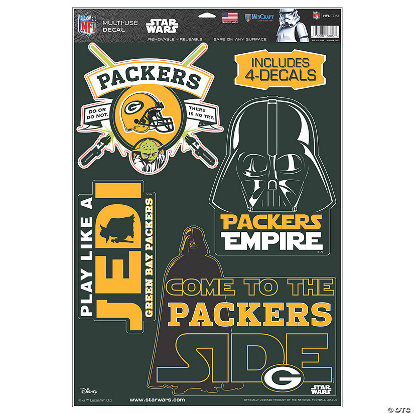 NFL® Green Bay Packers™ Star Wars™ Decals