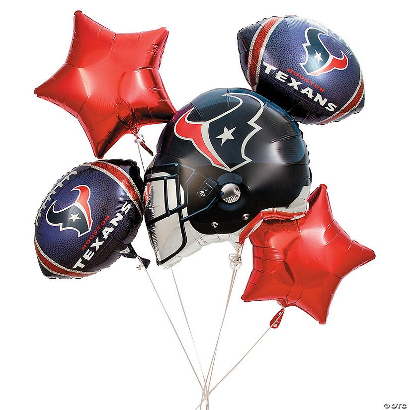 NFL® Houston Texans™ Mylar Balloons