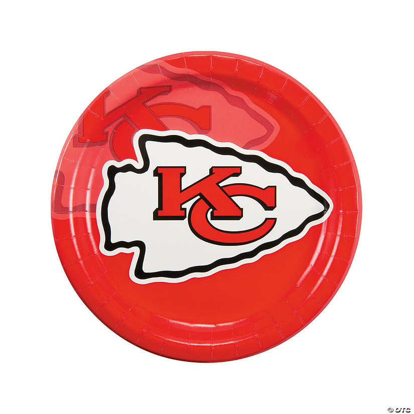 NFL® Kansas City Chiefs™ Paper Dinner Plates