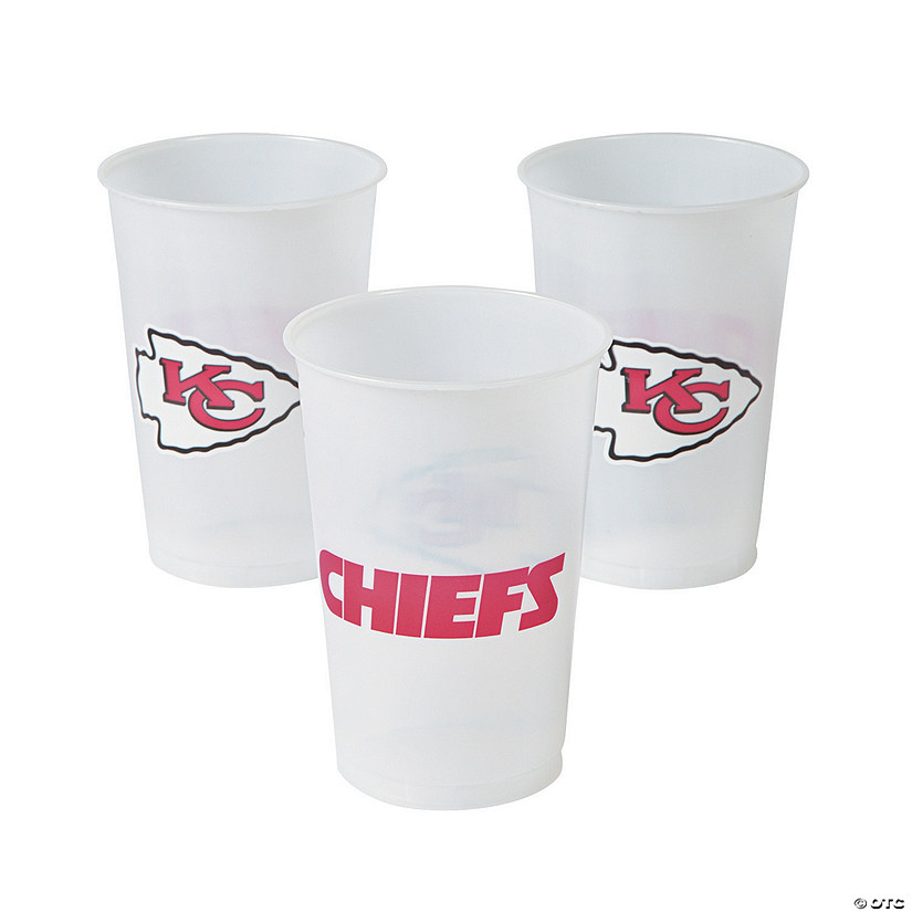 NFL® Kansas City Chiefs Plastic Cups