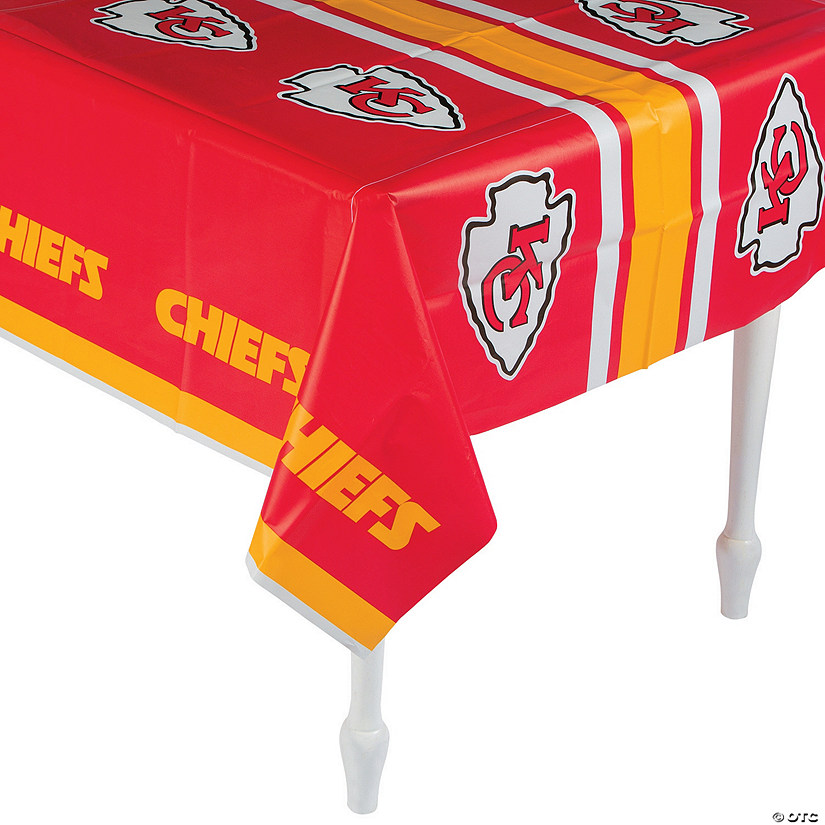 NFL® Kansas City Chiefs Plastic Tablecloth